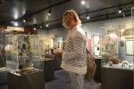 Mariusz w muzeum w Russell