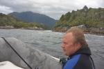 ponury dzień w Dusky Sound