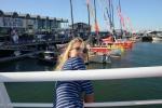 Hanuś i jachty Volvo Ocean Race