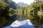gładź wody w Irene River