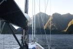 Milford Sound o poranku 8 marca 2015