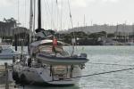 Katharsis zacumowana w Orams Marina czerwiec 2015