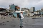 Mariusz zwiedza Waterfront w Wellington
