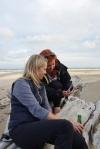 z ławeczki widać też Morze Tasmana