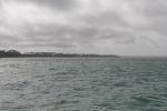 pierwsza próba kotwiczenia przy Wyspie Kiriwina - na południu przy Losuia