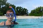 Ola w wodzie - pierwsze zanurzenie na Papui