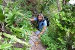 Mariusz na trasie do ogrodów