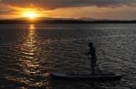 Janek o zachodzie słońca nad Nowym Hanowerem ZS