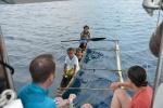 19 dzieciaki przypływają po lizaki
