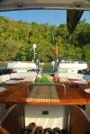 kolacja homarowa w przepięknej scenerii