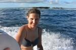 Czajka w drodze na snorkeling