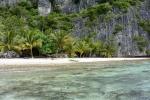 plaża rodziny mieszkającej na Panasia Island