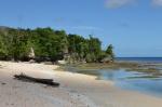 na plaży przy Kaiboli