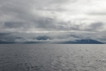 Wyspa Ferguson w chmurach