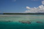widok na zachód - Nusalua Island na tle Nowego Hanoweru
