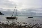trzy łodzie