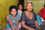 ulubiona żona wodza Boyogima z córką Barbarą i wnuczką