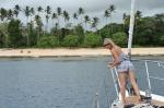 kolejne kotwicowisko przy Kiriwinie - Kaibola na północy wyspy ZS