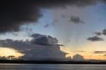 chmury nad Nowy Hanower ZS