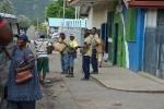 na głównej ulicy w Rabaul
