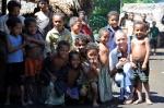 Hanuś z dzieciakami z Omarakany
