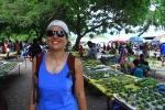 Czajka na targu w Rabaul JK