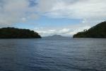 pomiędzy wyspami Tewara i Uama widok na Ferguson Island JK