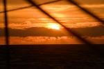 zachód słońca na Morzu Bismarcka 17.07.2015