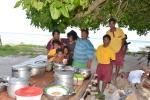 na obiedzie we wiosce