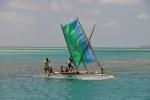 łódź żaglowa z Ninigo Island