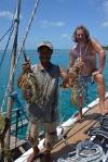 z rana przywieziono nam pierwsze homary