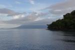 widok na Karkar z Wyspy Bagabag