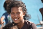 jeden z wielu portretów Papuaskich dziewczyn zrobiony przez Pawła PK