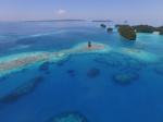 charakterystyczne dla Palau ujęcie