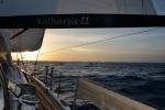 wysepki archipelagu Ninigo w promieniach zachodzącego słońca 02.08.2015