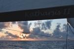 zachód słońca jeszcze na półkuli południowej 06.08.2015 PK