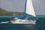 na Hermit Island jest inny jacht