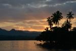 zachód słońca oglądany z kotwicowiska w Nagada Harbour 2