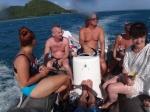 grupa wodna gotowa do skoku do wody PK