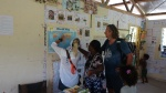 Hanuś pokazuje dyrektorce szkoły trasę Katharsis II AD