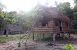 domek dla gości jeszcze w budowie PK