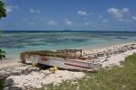 łódź i laguna Ninigo PK