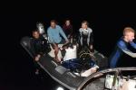 ekipa zadowolona po nocnym nurku AP