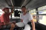 Misio i Kuba w lokalnej taxi 20.10.2015