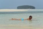 Weronika na rajskiej plaży