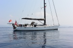 Katharsis II na kotwicy w Dampier Strait