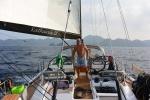 dopływamy do Wayag Island