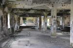 powojenne ruiny