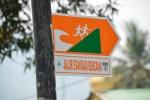 kierunkowskaz - droga ewakuacyjna w przypadku tsunami