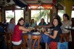 z Iwoną na śniadaniu w Taj